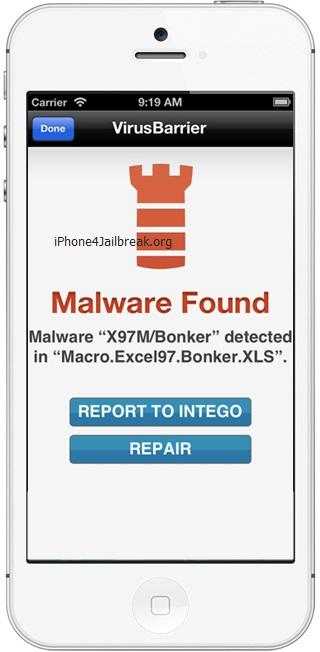 может вирус блокиратор на айфон программе можно запретить